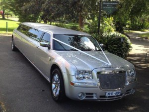 One of our wedding limousines for hire